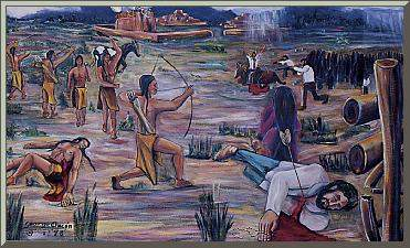 reasons behind the pueblo revolt Rumor and the 1696 pueblo revolt element of the depositions is the informants' unanimous insistence on rumor and anxiety as the root causes of the revolt.